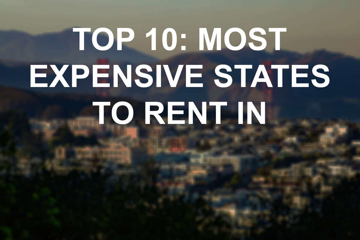 Rent rates are rising everywhere. Click through to see the most expensive states to rent in, in 2018.