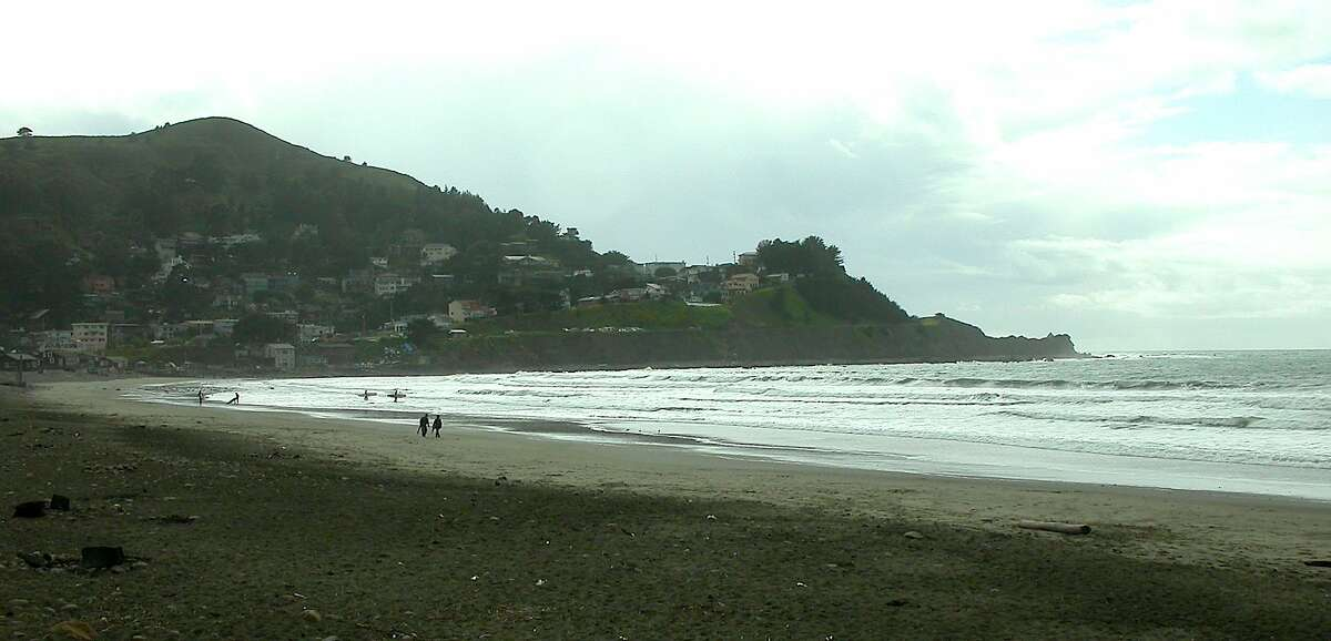 Pacifica State Beach is nestled inside Pedro Point at Linda Mar in southern Pacifica