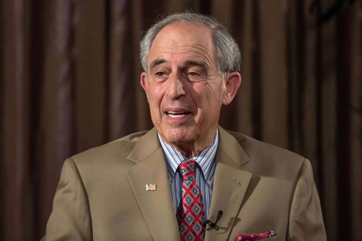 """Lanny Davis, shown above in an interview in May in Prague, Czech Republic. Davis says of his client, Michael Cohen, """"Over a period of time, I came to really like him as an imperfect, but sincere, person."""""""