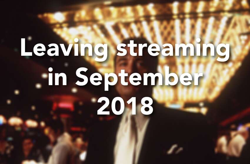Click through the slideshow to see what's leaving your favorite streaming services in September 2018.