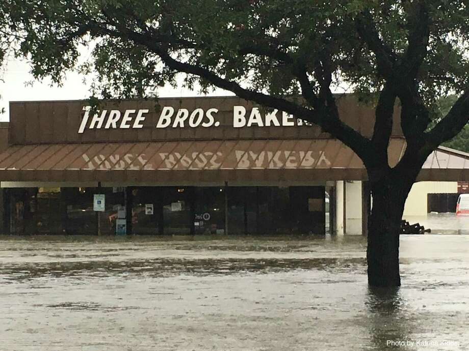 Three Brothers Bakery on S. Braeswood took on four and a half feet of water in Hurricane Harvey flooding. Photo: Katrina Kidder / Katrina Kidder