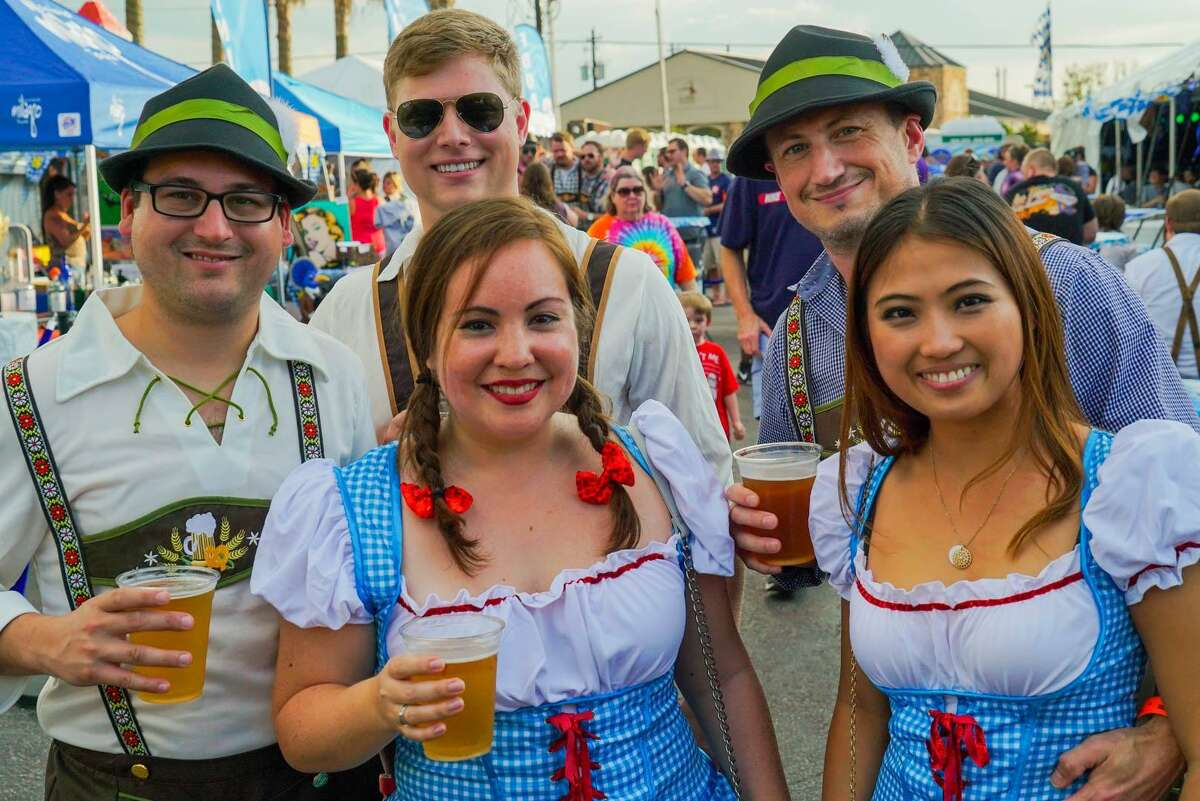 Oct. 18-20: King's Oktoberfest Address:King's BierHausat 2044 E T C Jester Time: Various times Tickets:$12 per person per day; $20 per person for a weekend pass.Details: King's BierHaus in Shady Acres presents three-day extravaganza, King's Oktoberfest. Expect German food and drinks, including German bier and wursts, live music, a Bavarian Strongman Competition, arm wrestling, beer pong and carnival games.