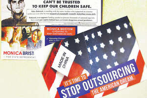 "Campaign mailers sent out recently aimed at Republican challenger for the state's 111th District seat Mike Babcock suggest he ""can't be trusted to keep our children safe."""