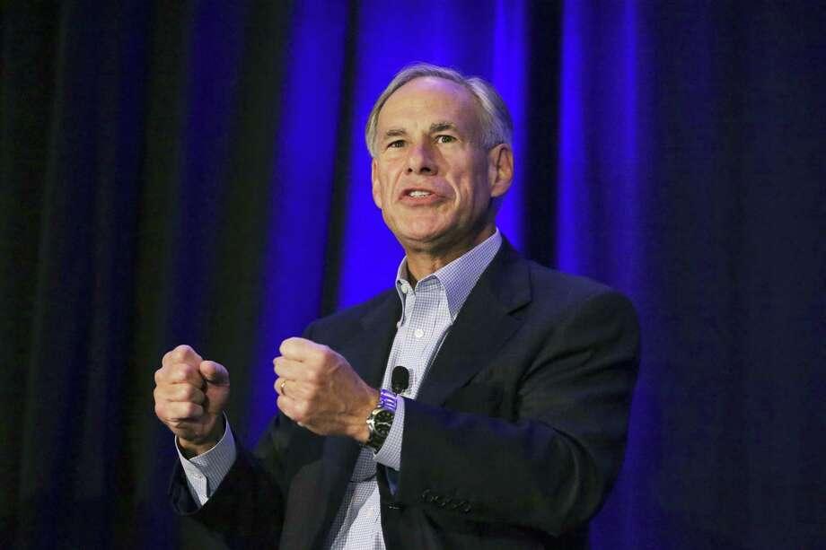 Texas Governor: Greg Abbott (R) Photo: Tom Reel, Staff / Staff Photographer / 2017 SAN ANTONIO EXPRESS-NEWS