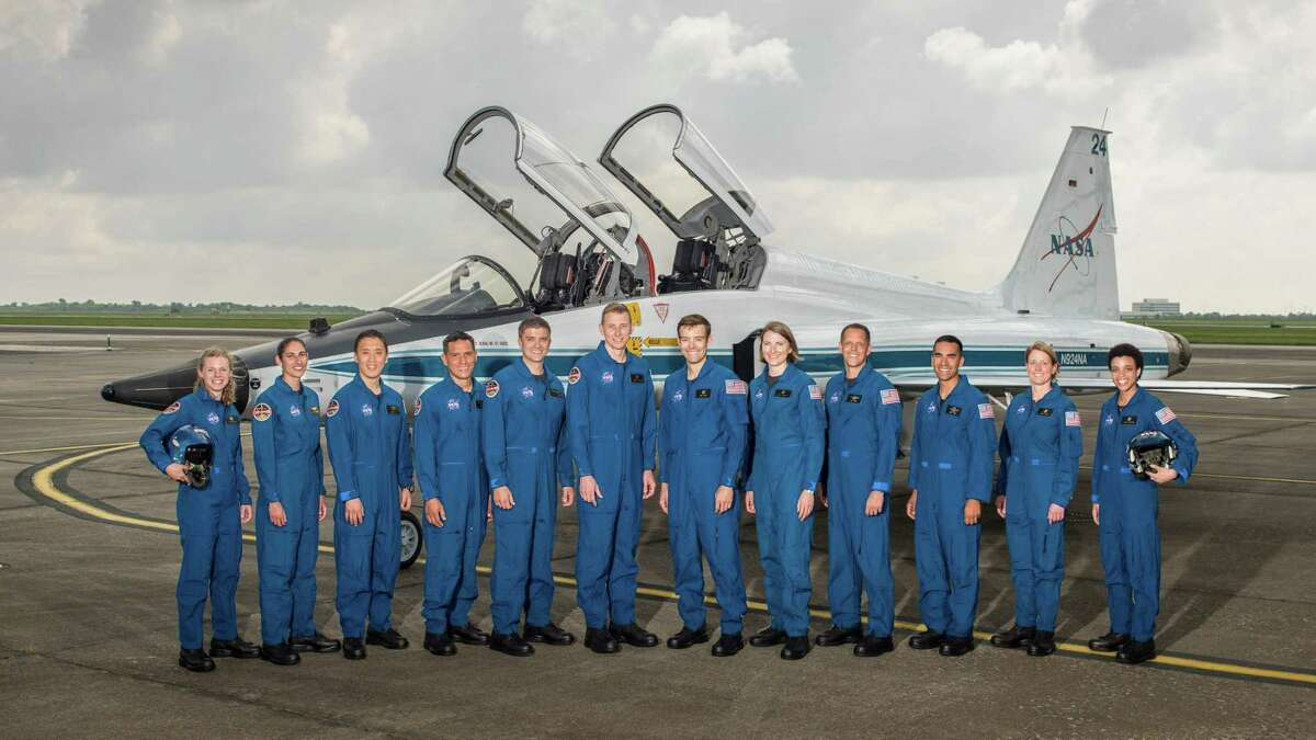 PHOTOS: Meet the Astronauts This undated photo made available by NASA on Wednesday, June 7, 2017 shows the 2017 NASA Astronaut Class. >>Meet the rest of Robb Kulin's class...