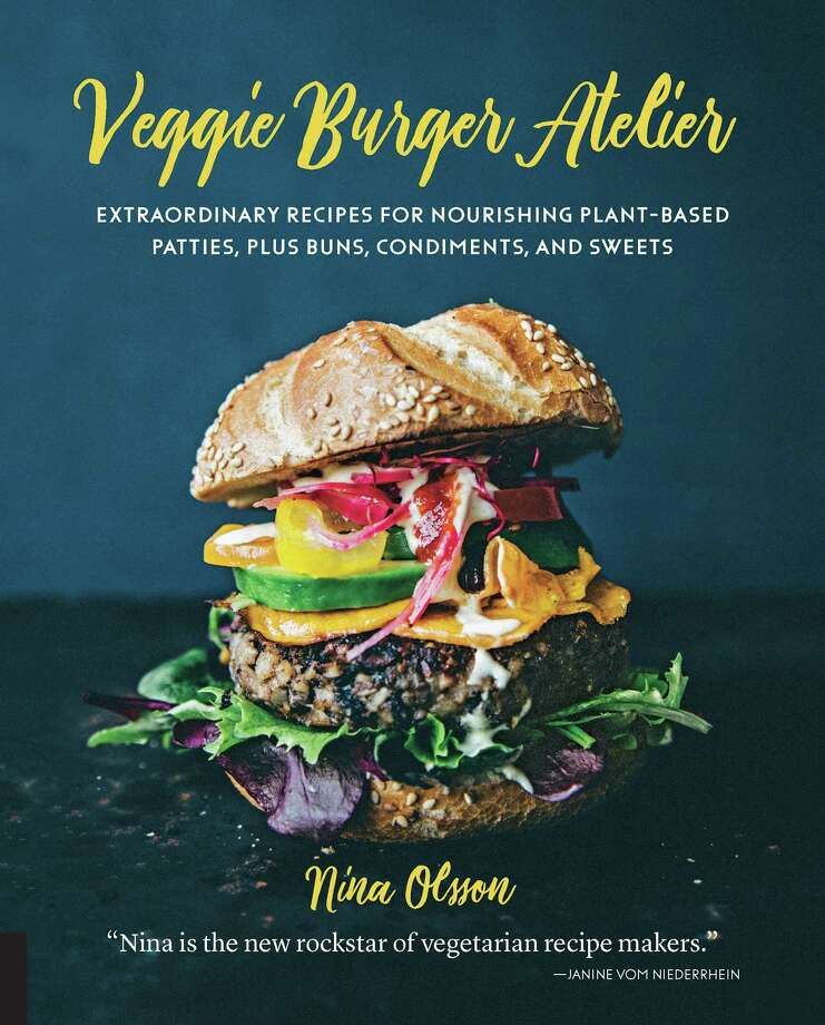 "Veggie Burger Atelier. Photo: Nina Olsson / From ""Veggie Burger Atelier"" © 2018 Quarto Publishing Group USA Inc. First Published In 2017 By Quarry Books, An Imprint Of The"