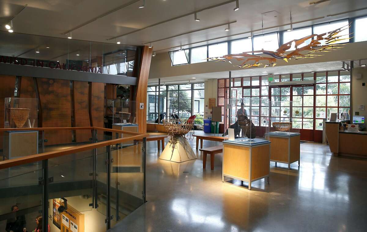 The lobby of the newly redesigned Randall Museum in San Francisco, Calif. on Friday, Aug. 24, 2018.
