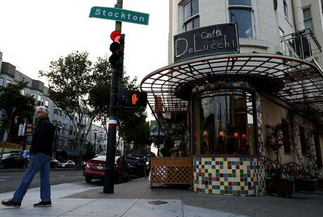 Cafe Delucci is located at 500 Columbus Ave. in San Francisco, Calif., on Wednesday, August 22, 2018. Photo: Yalonda M. James / The Chronicle