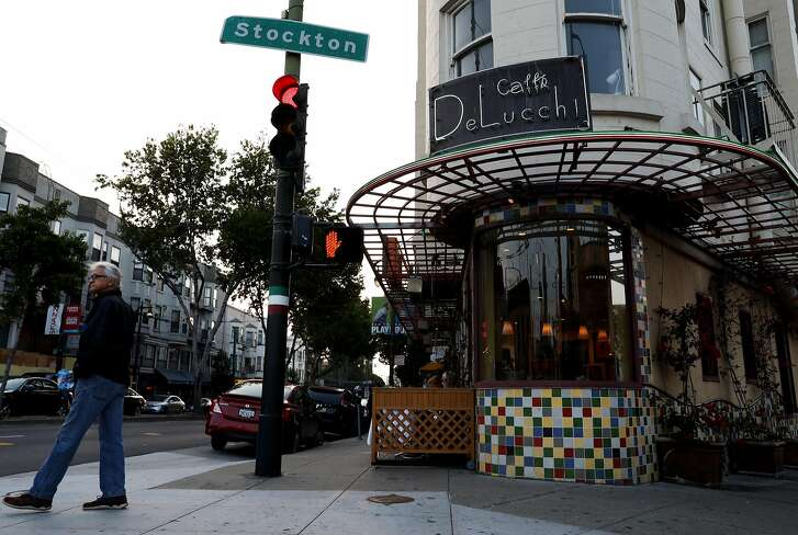 Cafe Delucci is located at 500 Columbus Ave. in San Francisco, Calif., on Wednesday, August 22, 2018.
