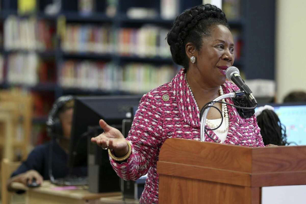 PHOTOS: Congressional edits Congresswoman Sheila Jackson Lee speaks at Hilliard Elementary School during their first day of school in 2018.U.S. Capitol Police arrested a staffer in her office for allegedly posting personal information about one or more senators involved in the hearings on Supreme Court nominee Brett Kavanaugh. >>See some of the more stranger edits that people inside the walls of Congress have made to Wikipedia pages in the photos that follow...
