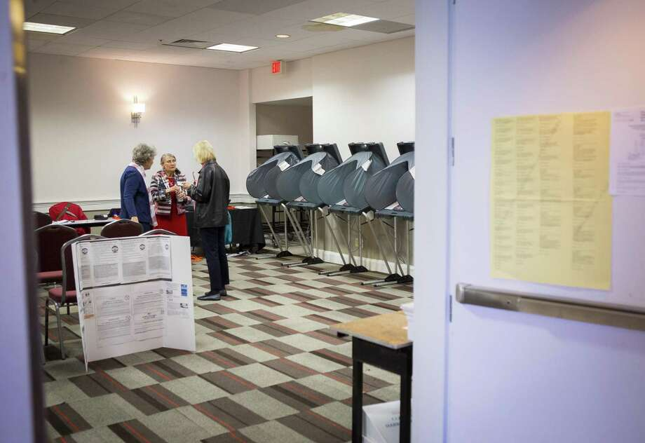 Click through the slideshow to see the 10 sites with the most people voting Tuesday