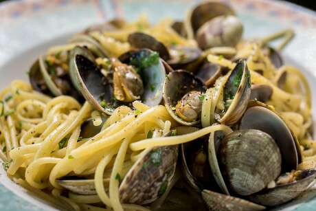Linguine with clams at Original U.S. Restaurant in North Beach. Photo: John Storey / Special To The Chronicle 2016