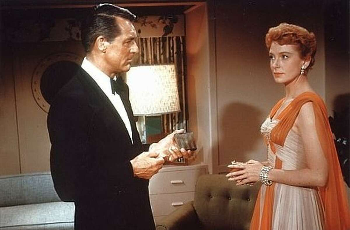 """Cary Grant and Deborah Kerr stare in """"An Affair to Remember."""" George Sirk's film is a pinnacle of 1950s Hollywood romance."""