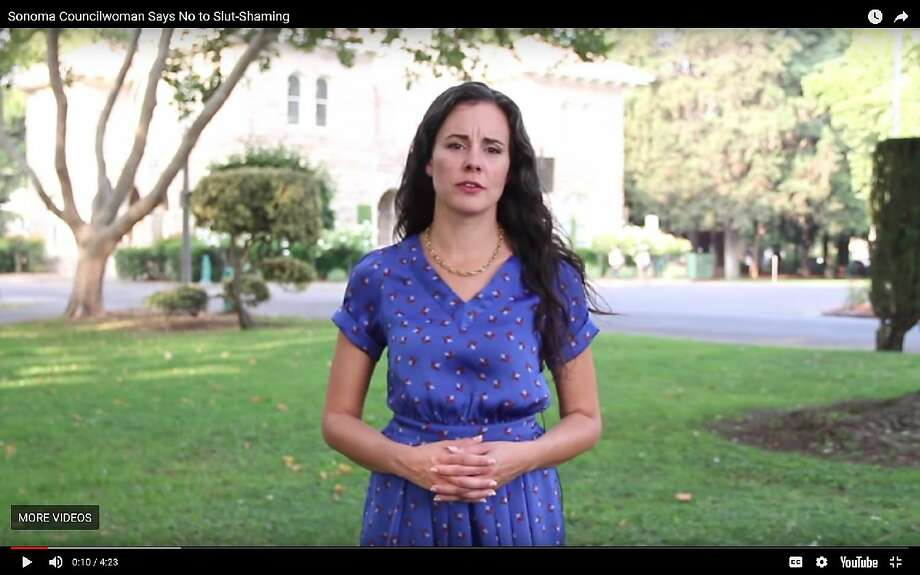 Sonoma City Councilwoman Rachel Hundley has recorded a video to rebut website allegations against her. Photo: Youtube.com