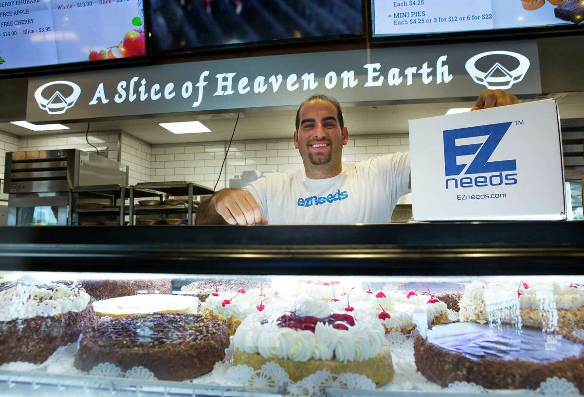 E-commerce business EZNeeds founder Nidal Ganim, whose family owns House of Pies, will now be selling House of Pies pies online for the first time through EZNeeds.com. Photographed at the House of Pies on Fuqua, Monday, Aug. 27, 2018 in Houston.