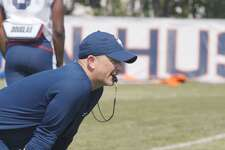 UConn defensive coordinator Billy Crocker.