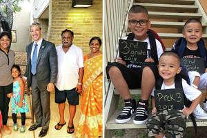 San Antonio students pose for 2018 back-to-school photos