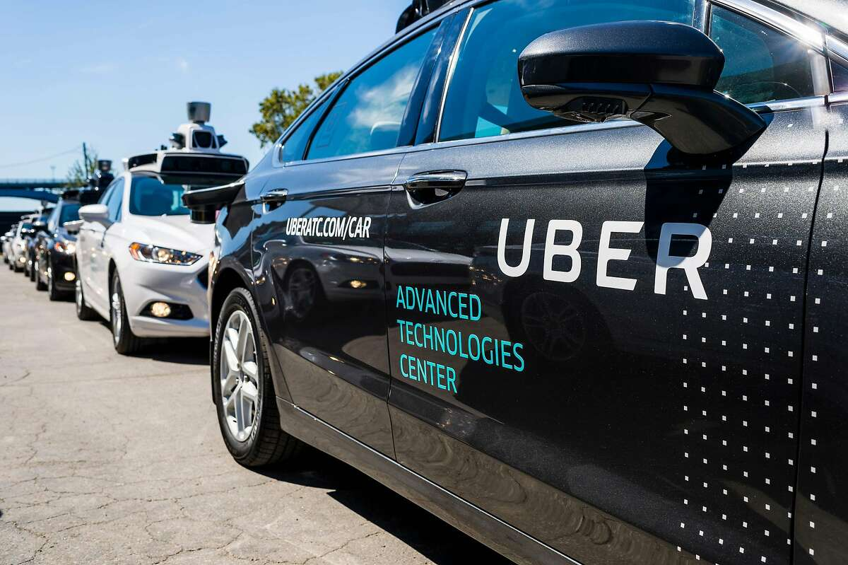 (FILES) In this file photo taken on September 13, 2016 Pilot models of the Uber self-driving car is displayed at the Uber Advanced Technologies Center in Pittsburgh, Pennsylvania. - August 27, 2018 Toyota will pump about $500 million into Uber as part of a deal to work together on mass-producing self-driving vehicles, the Japanese car giant said on Tuesday. (Photo by Angelo Merendino / AFP)ANGELO MERENDINO/AFP/Getty Images