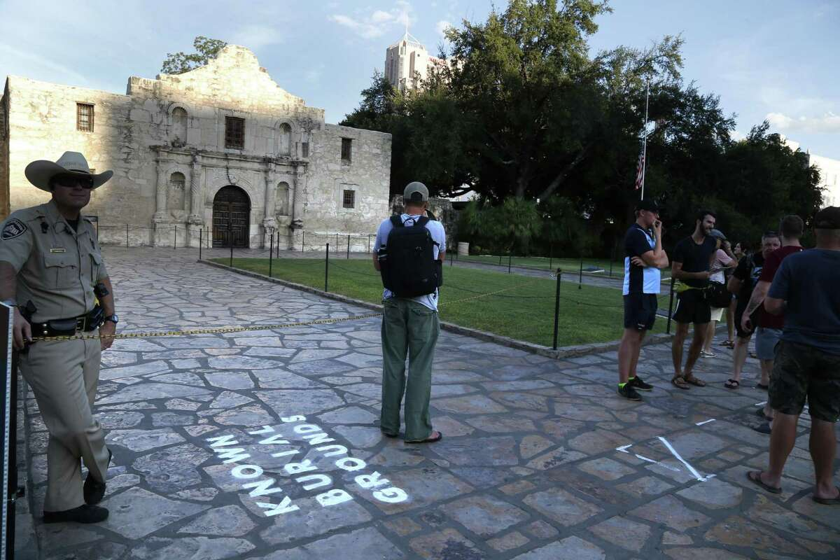 """The Alamo is part of """"What's Out There Weekend,"""" a program of The Cultural Landscape Foundation. The program is being offered as part of San Antonio's 2018 Tricentennial celebration."""