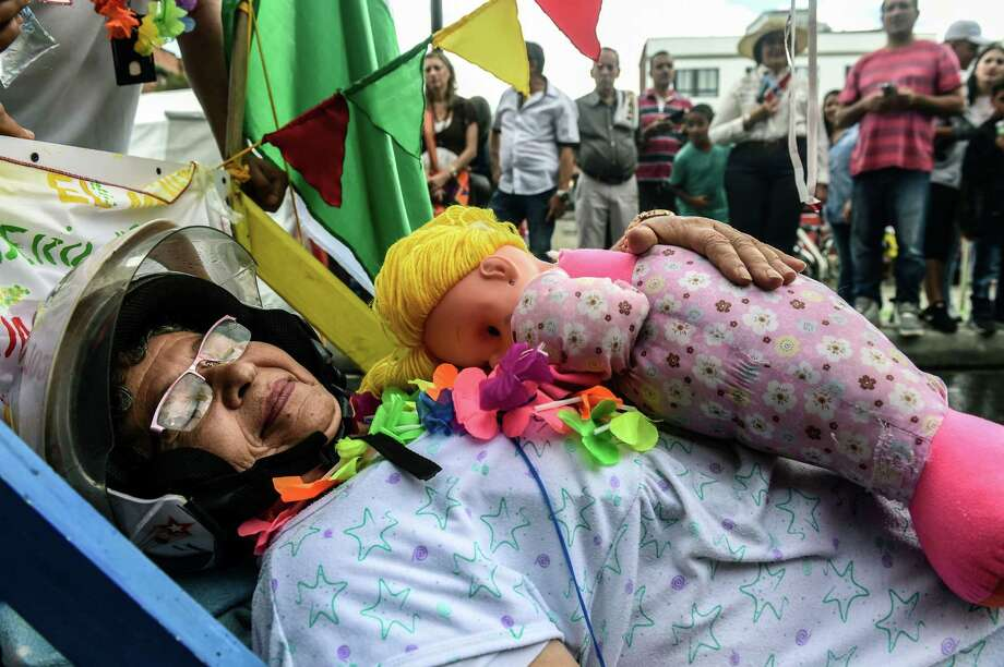 On August 19, 2018, a parade will be held in Itagui, near Medellin, Colombia, to celebrate the World Day of Laziness. Photo: JOAQUIN SARMIENTO, Contributors / AFP / Getty Images / AFP or Licensor