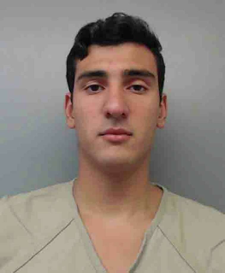 Edwin Baez, 21, was charged with theft of government property, conspiracy and possession with intent to distribute methamphetamine. Photo: Webb County Sheriff's Office