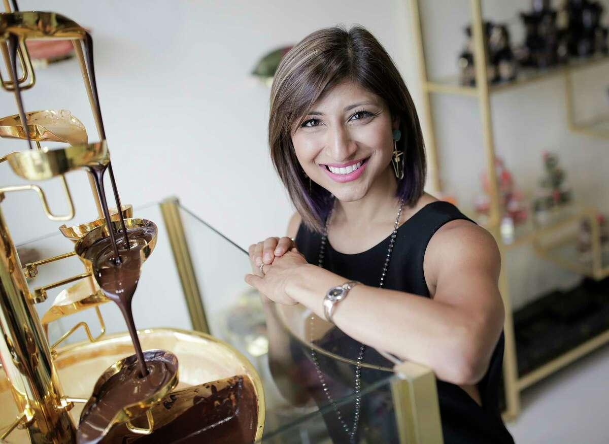 Chocolatier Annie Rupani, owner of Cacao & Cardamom.