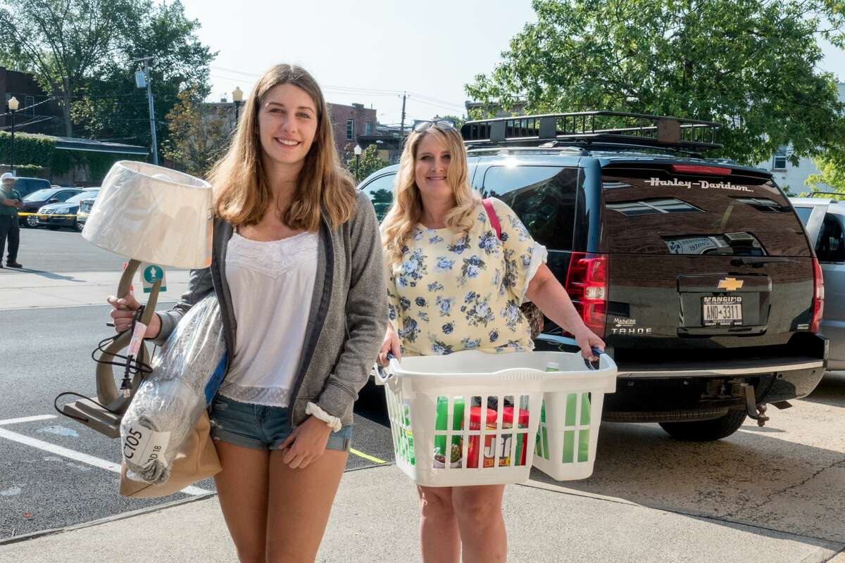 The Sage Colleges has campuses in Troy (Russell Sage College) and Albany (Sage College of Albany). Students moved in on August 24, 2018. Photo credit: Tamara Hansen, The Sage Colleges