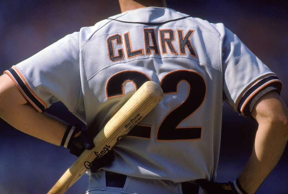 San Francisco said goodbye to Will Clark in 1993. Photo: Andrew D. Bernstein / Getty Images 1988
