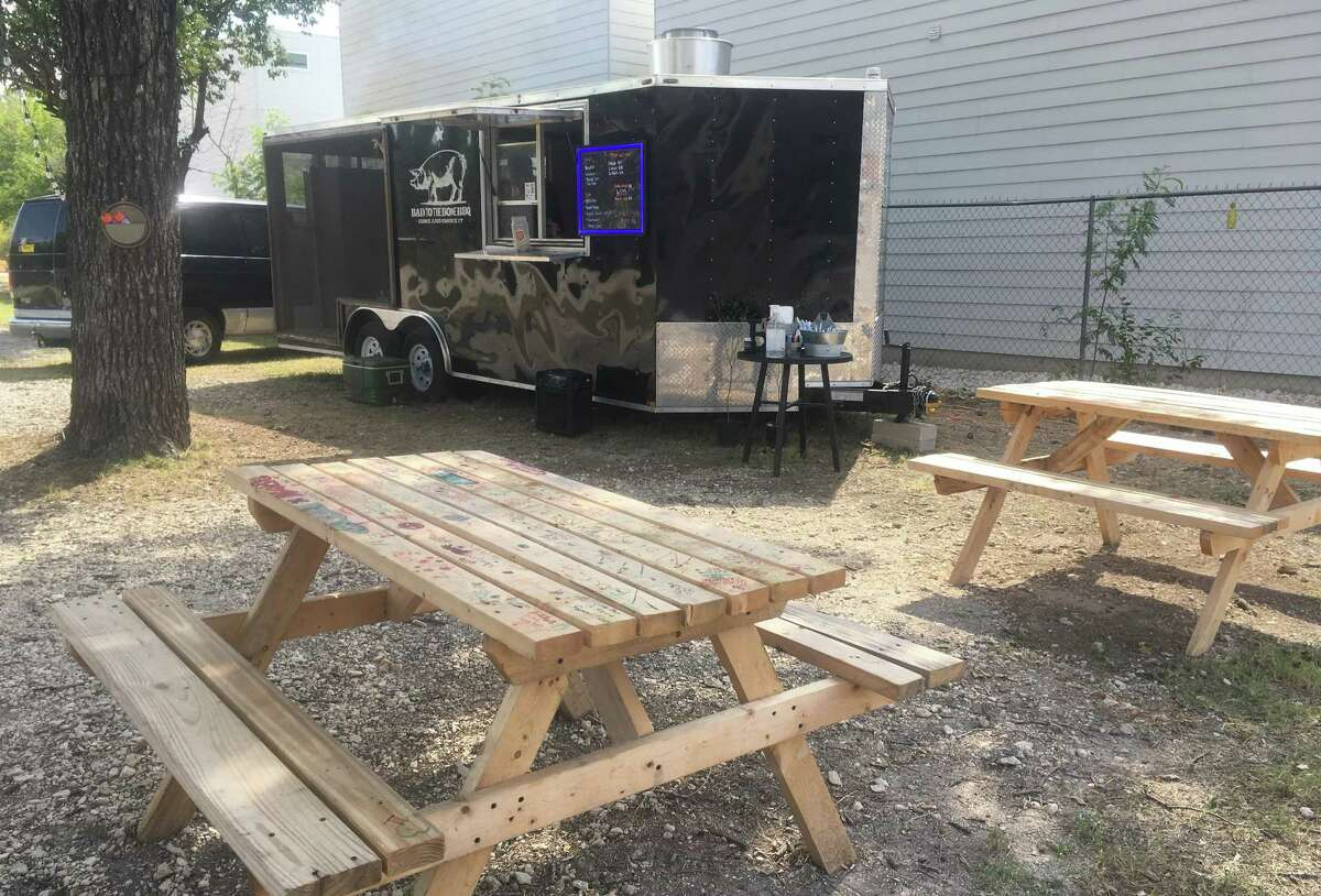 Bad To The Bone BBQ is a mobile operation, but has signed a lease to occupy the space at 242 E. Cevallos and is usually open Wednesdays through Sundays. It is owned and operated by Hector and Crystal Cabello.