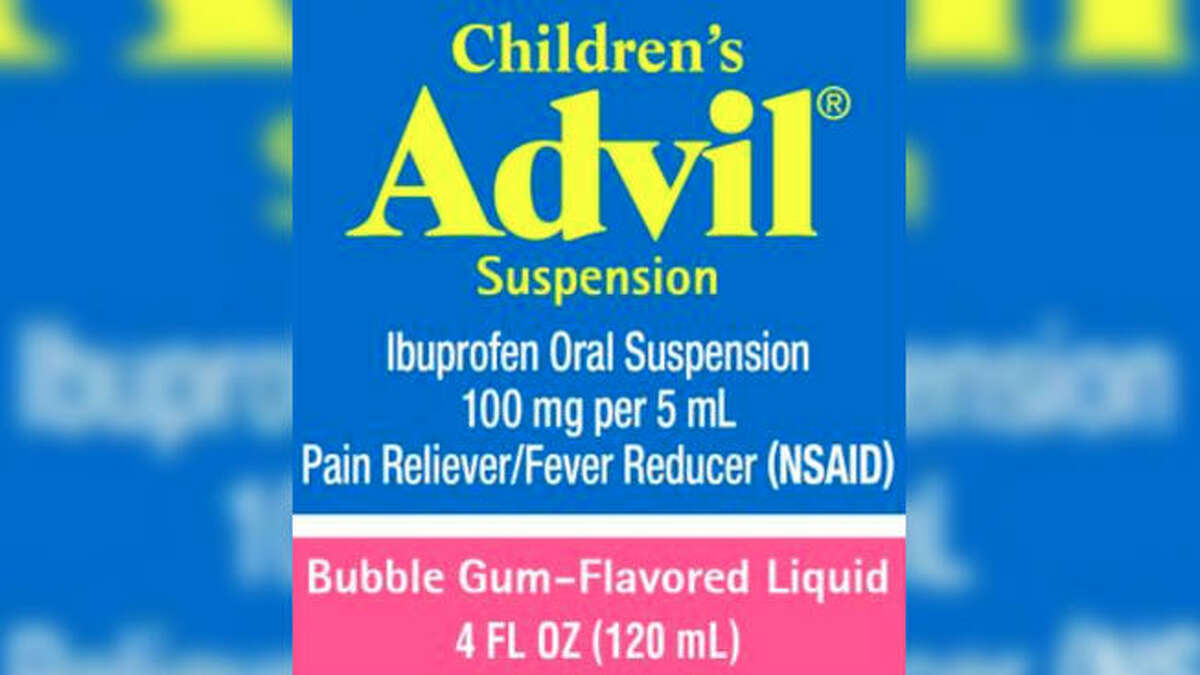 Pfizer announced Tuesday a recall of its bubble gum-flavored Children's Advil Suspension medicine over overdose concerns.