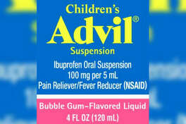 Pfizer announced Tuesday a recall of its bubble gum-flavored Children's Advil Suspension medicine over overdose concerns.