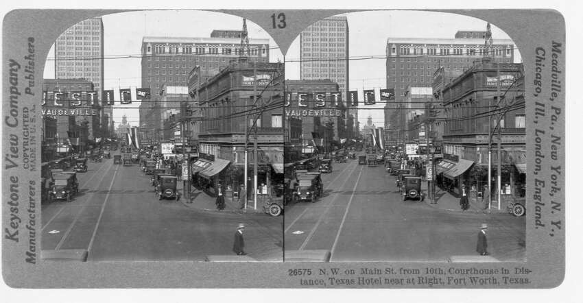Houston's first asphalt street:In 1897 downtown's Franklin Street would become the first in town to get asphalt.