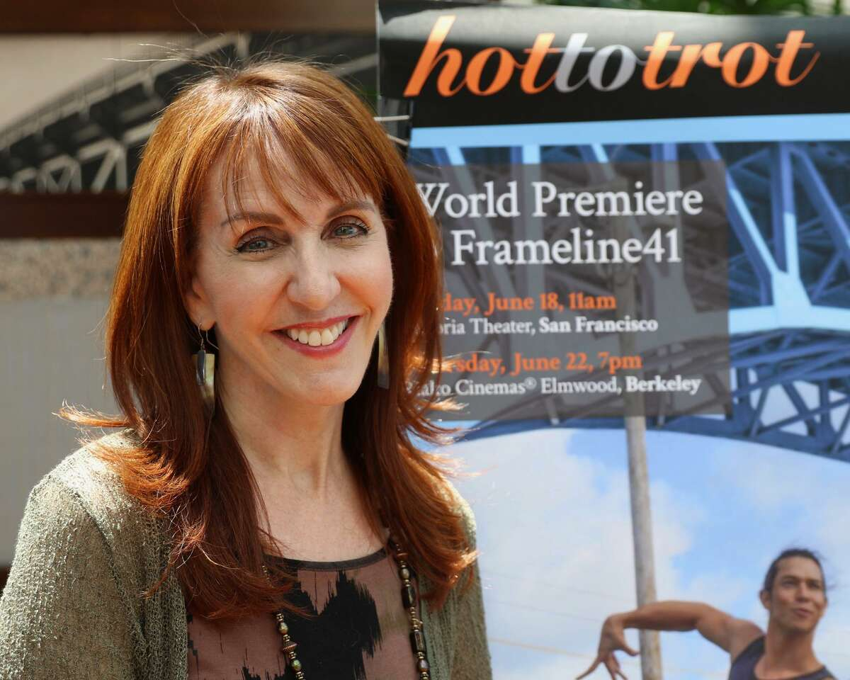 """Gail Freedman attends the Frameline Festival in San Francisco in June 2018. A New York filmmaker, she took about six years to complete her latest documentary, """"Hot to Trot,"""" a film about the world of same-sex competitive ballroom dance. The film will be shown at the Avon Theatre on Sept. 6, 2018, in Stamford, Connecticut."""