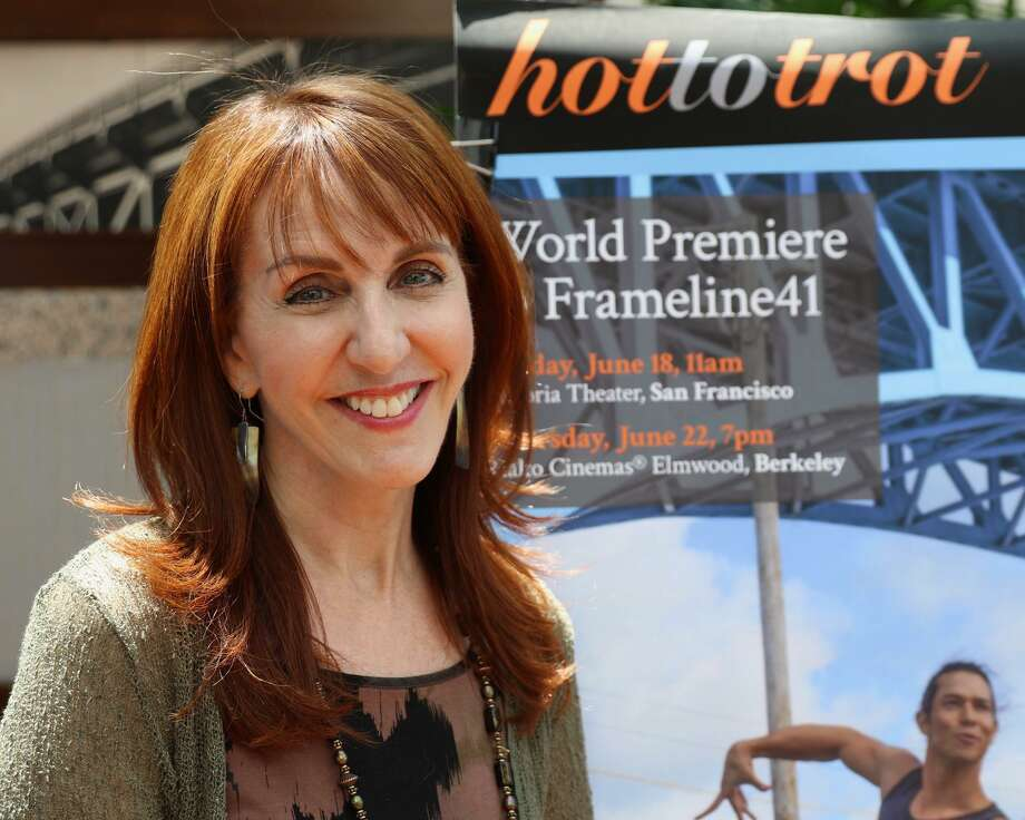 "Gail Freedman attends the Frameline Festival in San Francisco in June 2018. A New York filmmaker, she took about six years to complete her latest documentary, ""Hot to Trot,"" a film about the world of same-sex competitive ballroom dance. The film will be shown at the Avon Theatre on Sept. 6, 2018, in Stamford, Connecticut. Photo: Andrea Salles / Contributed Photo / Stamford Advocate"