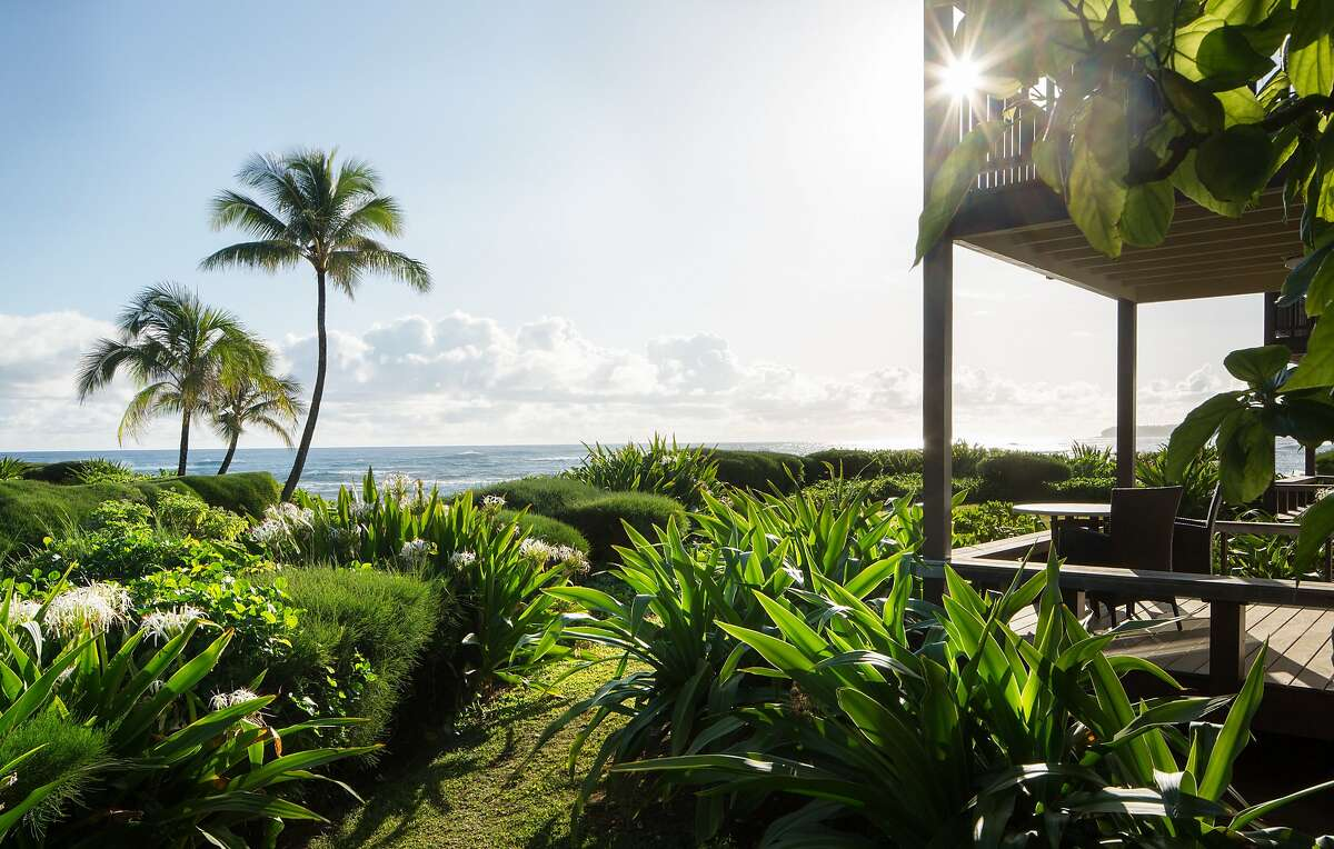 Currently serving as a community center, the 52-suite Hanalei Colony Resort on Kauai�s North Shore expects to reopen when Kuhio Highway does later this year.
