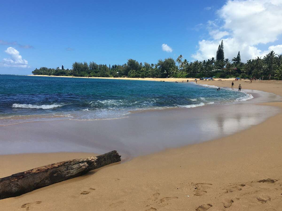 Kauai�s Haena Beach Park (seen in 2017) is expected to reopen once repairs to Kuhio Highway are completed this fall.