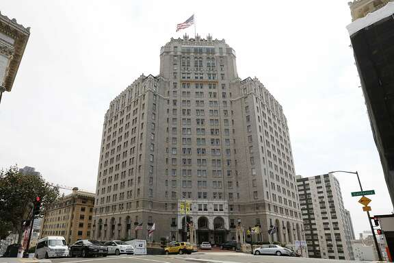 The Intercontinental Mark Hopkins is seen on Monday, August 27,  2018 in San Francisco, Calif.