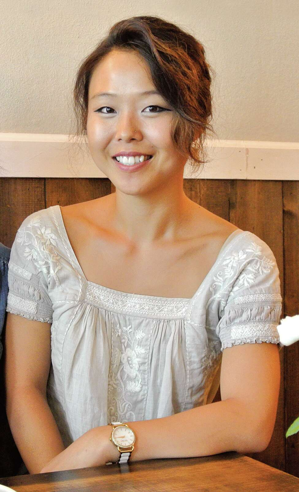 Jinah Kim, founder-owner os Sunhee?s Farm and Kitchen