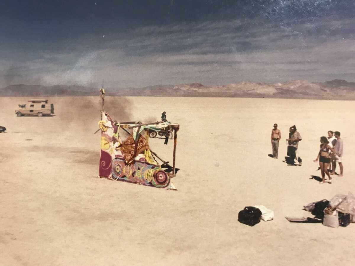 Burning Man in 1994.