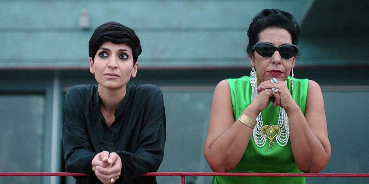 """Neda Rahmanian (left) and Najia Skalli appear in """"Looking for Oum Kulthum,"""" one of the highlights of the Iranian Film Festival in S.F."""