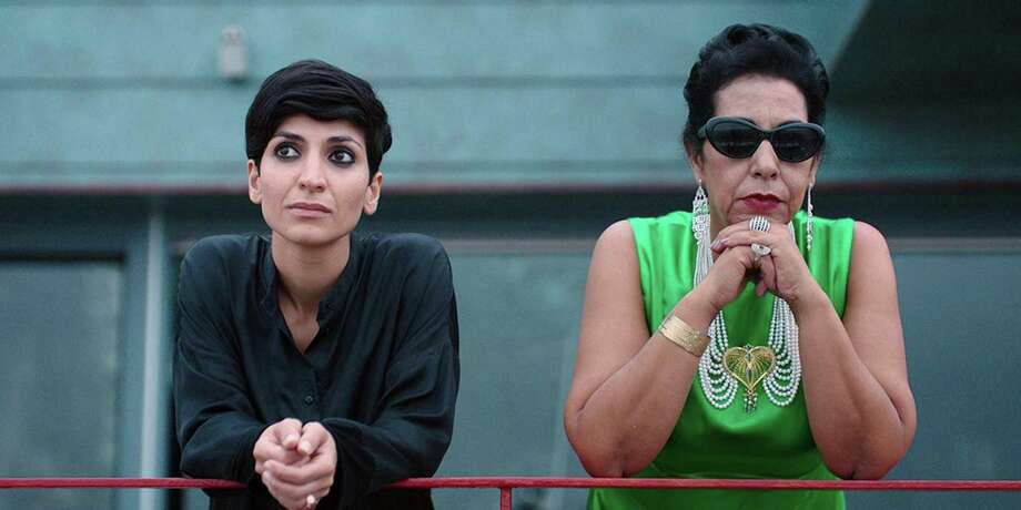 """Neda Rahmanian (left) and Najia Skalli appear in """"Looking for Oum Kulthum,"""" one of the highlights of the Iranian Film Festival in S.F. Photo: Razor Film / Match Factory"""