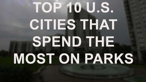 Click through to see the cities that spend the most on parks.