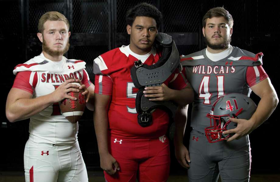 Splendora seniors (from left) Jessie Paris, Matthew Morris and Kyle Weber. Photo: Jason Fochtman, Staff Photographer / Houston Chronicle / © 2018 Houston Chronicle