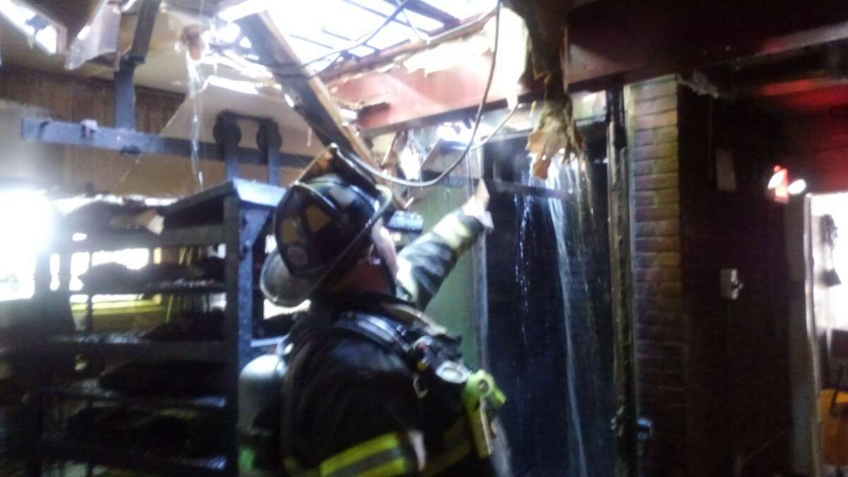Capital Q Smokehouse in Albany was damaged by fire on July 12.