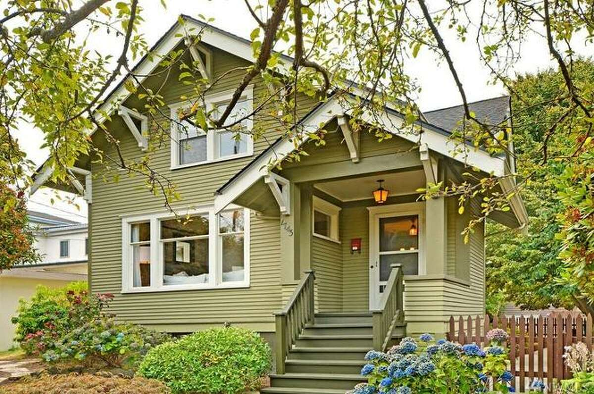 1743 NW 61st St. Seattle, WA, listed for $1,150,000. See the full listing below.