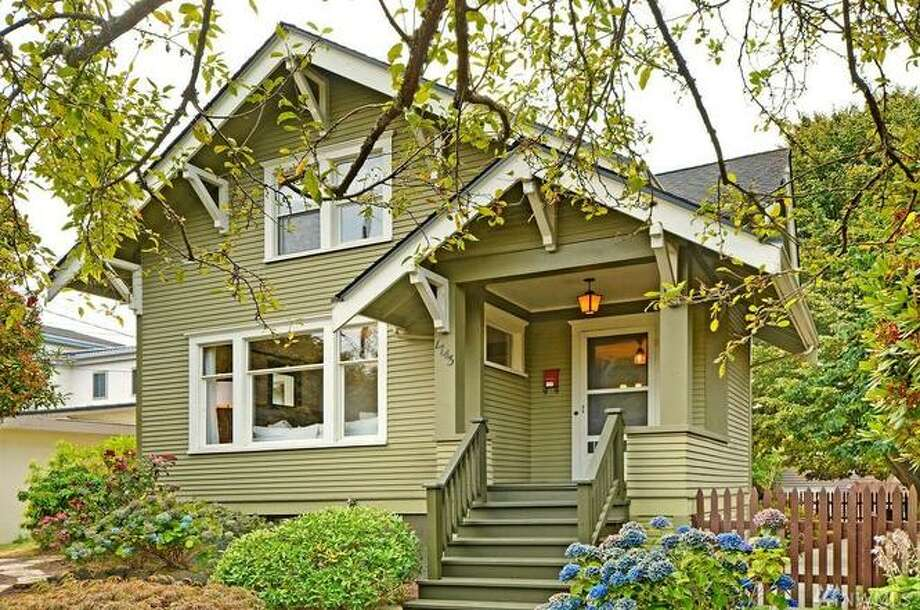 1743 NW 61st St. Seattle, WA, listed for $1,150,000. See the full listing below. Photo: Windermere Real Estate Co.