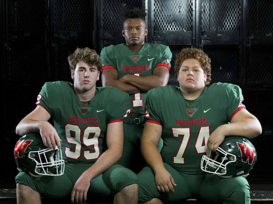 From left: Sean Stavinoha, Austin Winfield and Carlos Garcia will be key players for The Woodlands as the team aims for a 24th consecutive playoff berth. Photo: Jason Fochtman, Staff Photographer / Houston Chronicle / © 2018 Houston Chronicle