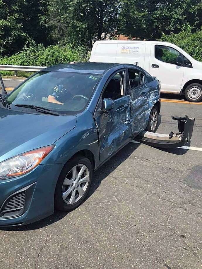 Officials: Non-life-threatening injuries in Ansonia crash