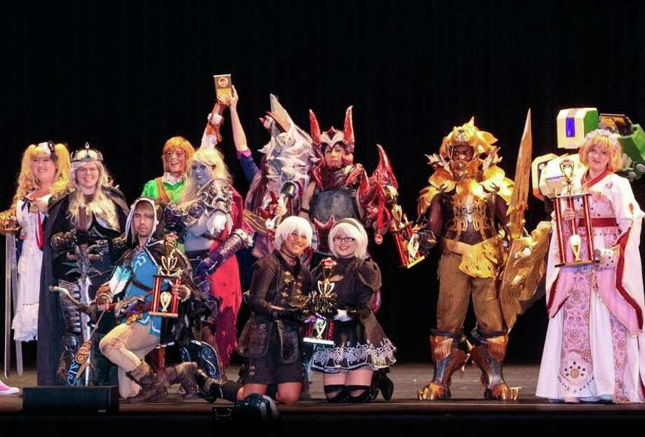 Cosplay is big at San Japan, where attendees dress up as their favorite characters. Photo: San Japan