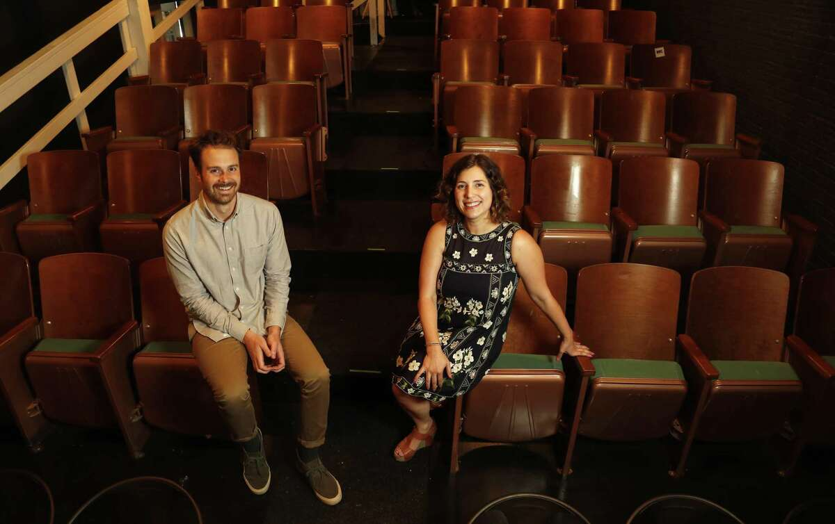 StephanieWittels Wachs, executive director and Matt Hune, artistic director of Rec Room, a new arts venue that is creating many innovative new forms to promote and program art in Houston.